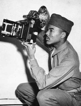 Photo of W.A. Scott III with his camera