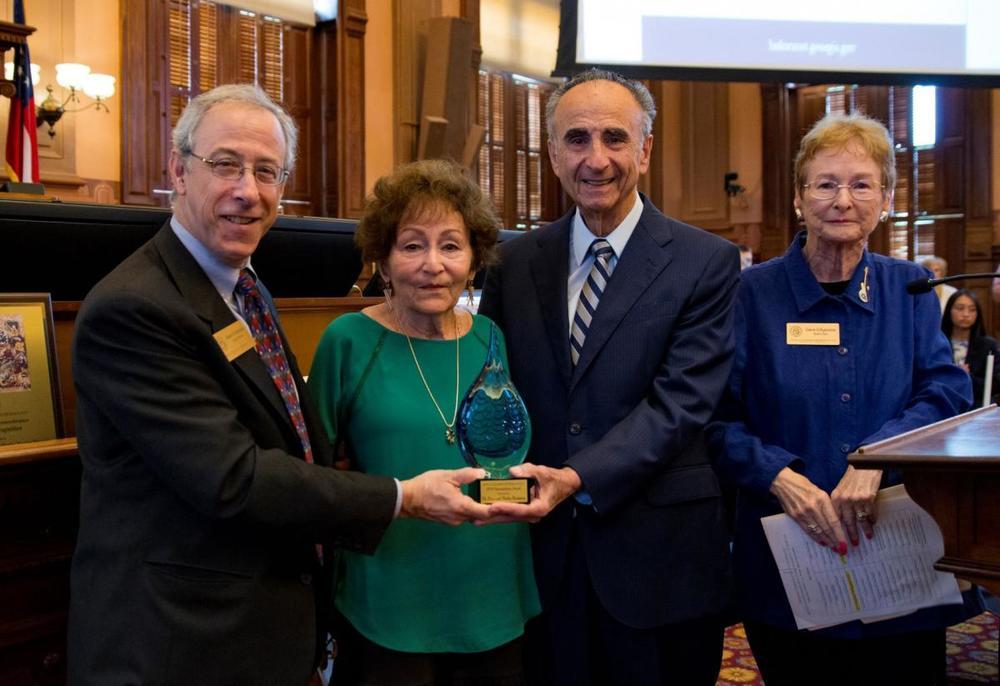 047 2019 DOR Wittenstein, Brickmans, D'Agostino with award - 2.JPG