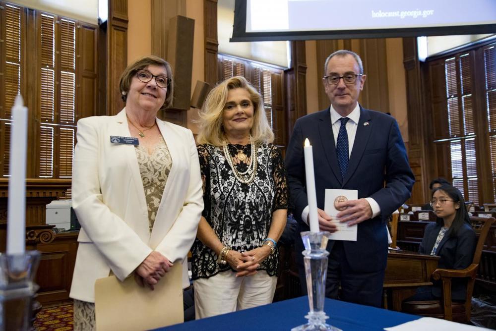 085 2019 DOR Sen. Kirkpatrick, Mariella Crea, CG Louis de Corail.JPG